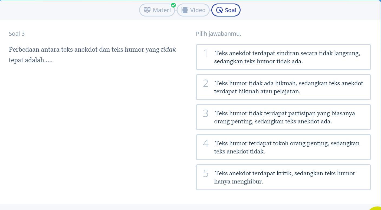 Simak 5 Contoh Soal Teks Anekdot Kelas X Ini Biar Ujian