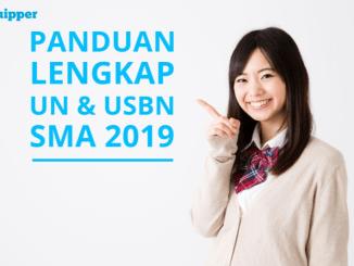 Panduan lengkap UN dan USBN SMA 2019