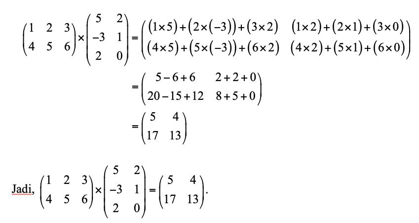 Kelas 12 Yuk Belajar Matriks Dan Contoh Soalnya Di Sini