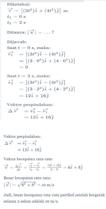 Contoh Soal Vektor Dan Pembahasannya : contoh, vektor, pembahasannya, Contoh, Vektor, Fisika, Pembahasannya, Kelas, Berbagi