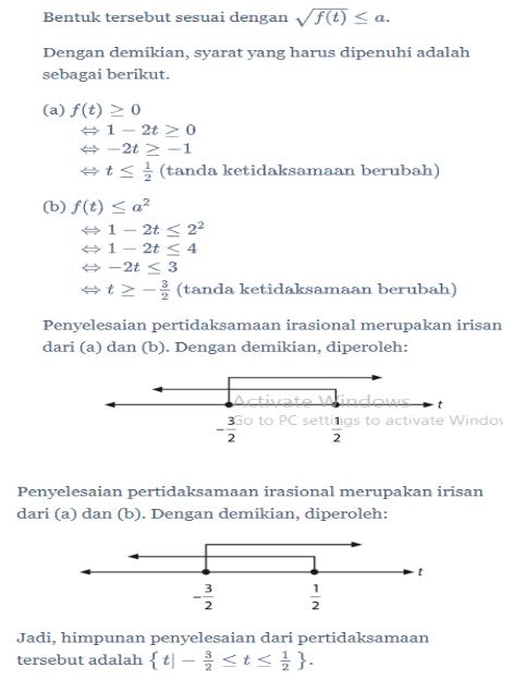 Pertidaksamaan Irasional Dan Rasional Matematika Ipa Kelas 10 Quipper Blog
