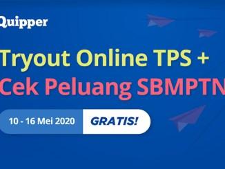 Tryout Online TPS & Cek Peluang SBMPTN
