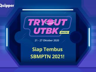 Tryout UTBK 2021 GRATIS dari Quipper!