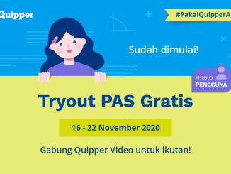Tryout Online Gratis PAS 2021