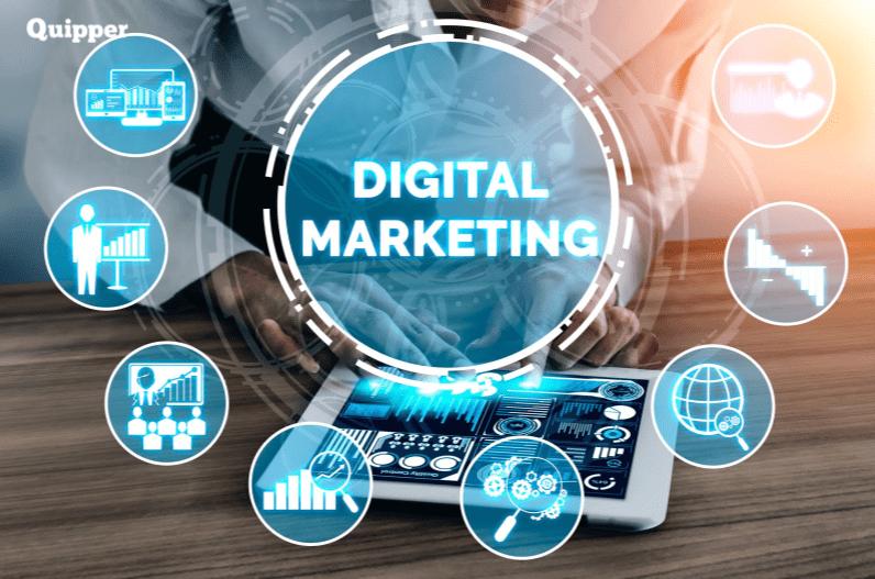 pekerjaan bidang digital marketing
