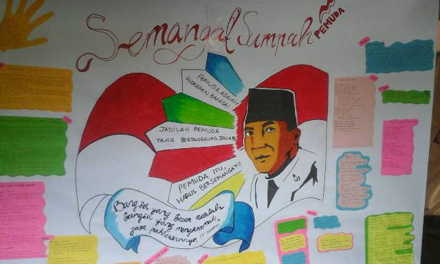 contoh mading