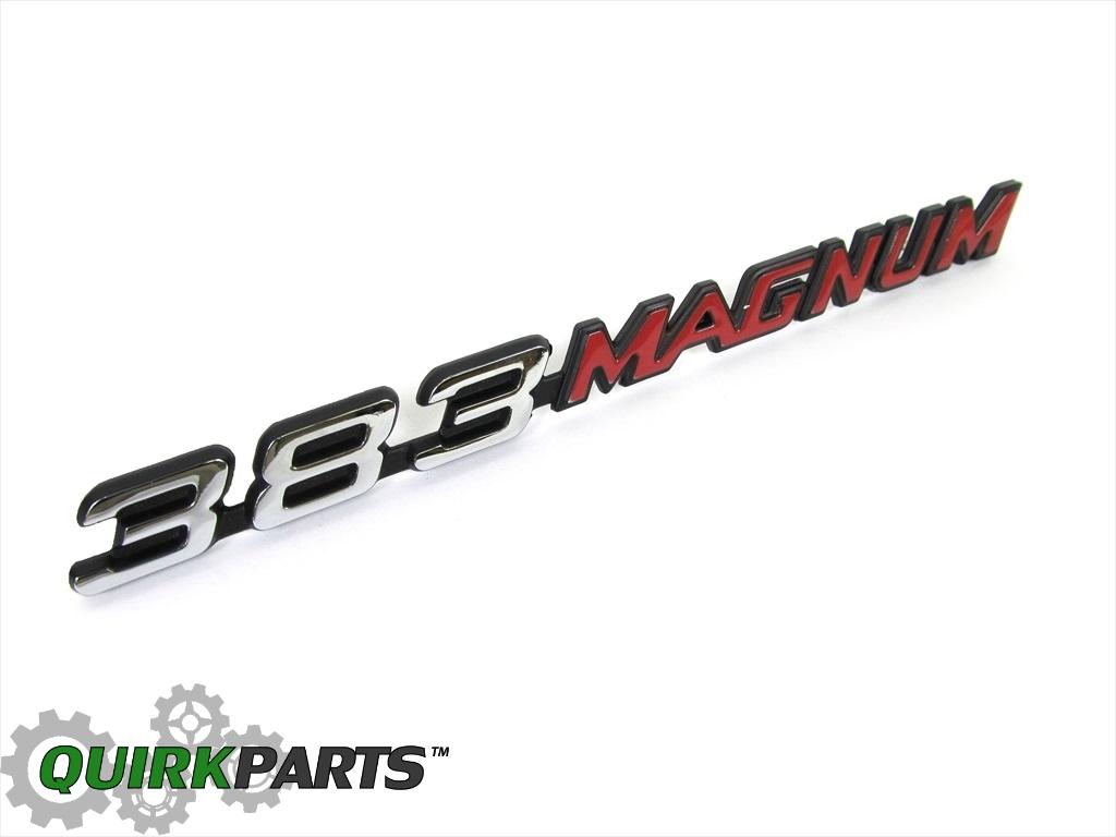Dodge Charger Super Bee Hood Emblem Mopar Genuine Oem