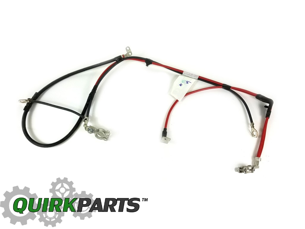 01 05 Chrysler Pt Cruiser Positive Amp Negative Battery Cable Harness Oem Mopar