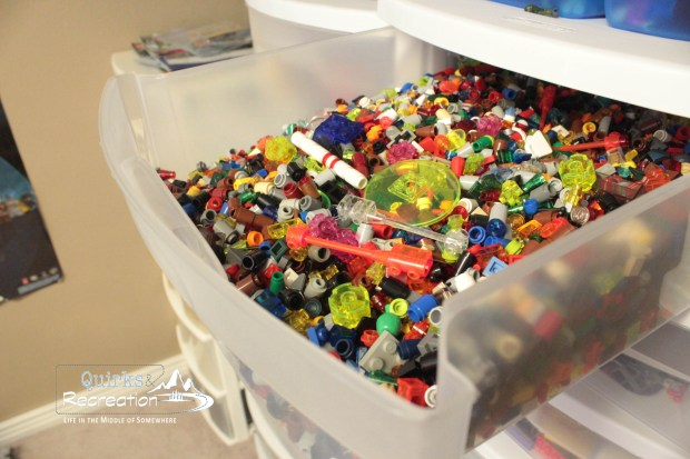 LEGO small pieces organization