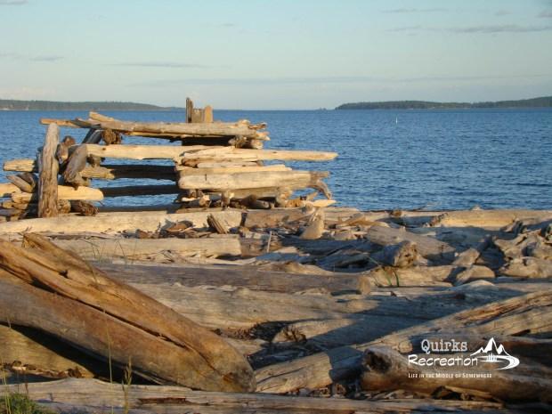 driftwood fort Jackson's Beach