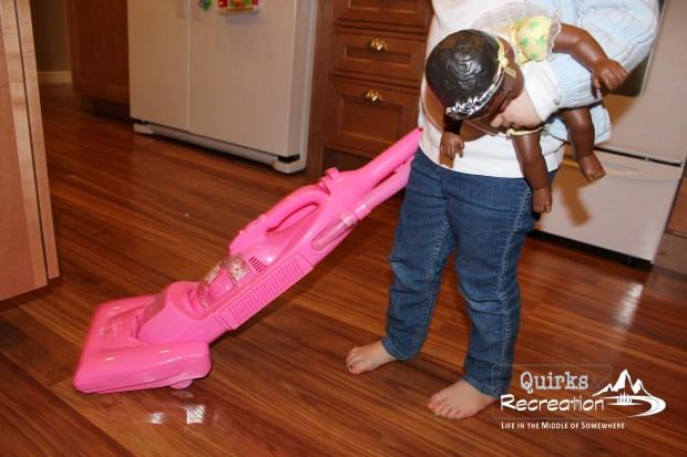 pink vacuum