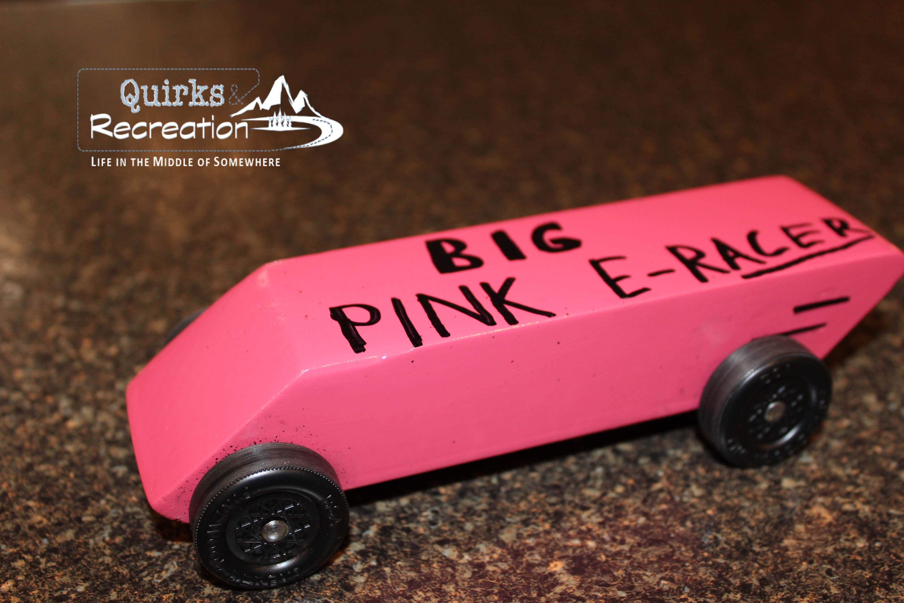 Awana Grand Prix Car Patterns  Awana Grand Prix  Pink Pearl