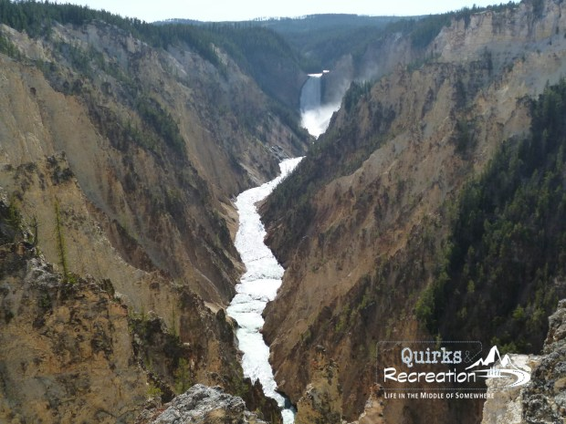 Artist's Point in Yellowstone National Park