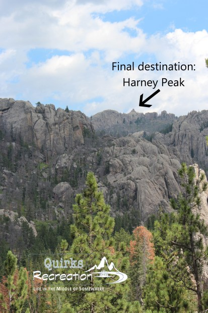 View of Harney Peak from a distance