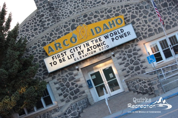 Arco, Idaho city hall