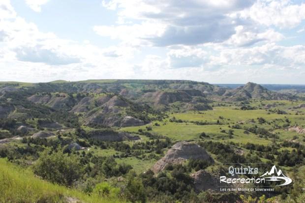 badlands overlook at Theodore Roosevelt National Park