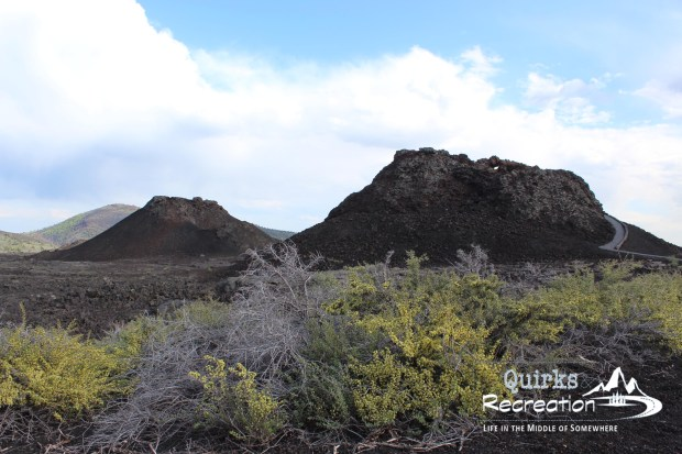 Cinder cones at Craters of the Moon
