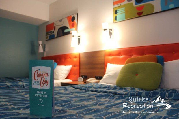 Cabana Bay Beach Resort family suite room at Universal Orlando