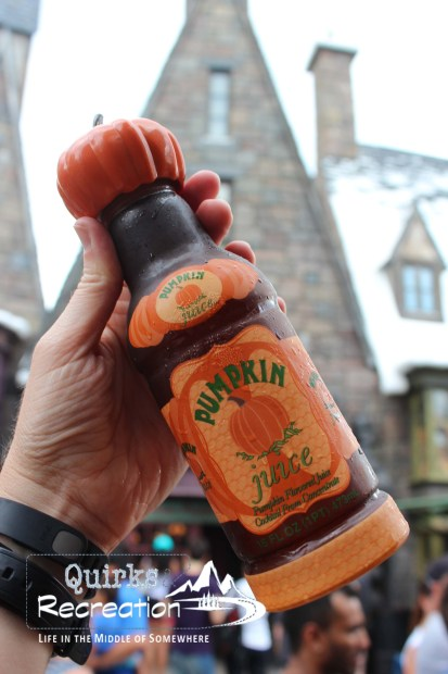 bottle of pumpkin juice at Islands of Adventure, Universal Orlando