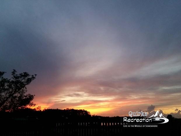 Sunset at Big Cypress National Preserve