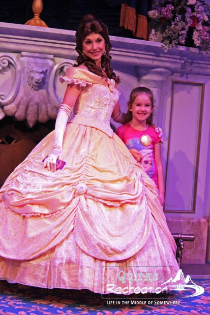 enchanted tales with Belle Disney World Magic Kingdom