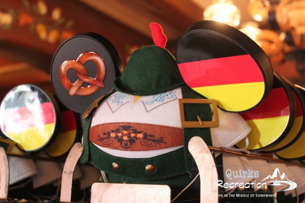 Mickey Mouse ears in Germany at Walt Disney World Epcot