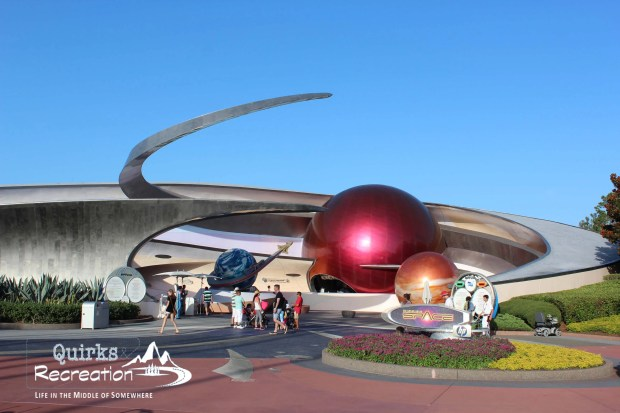 Exterior of Mission: Space at Walt Disney World Epcot