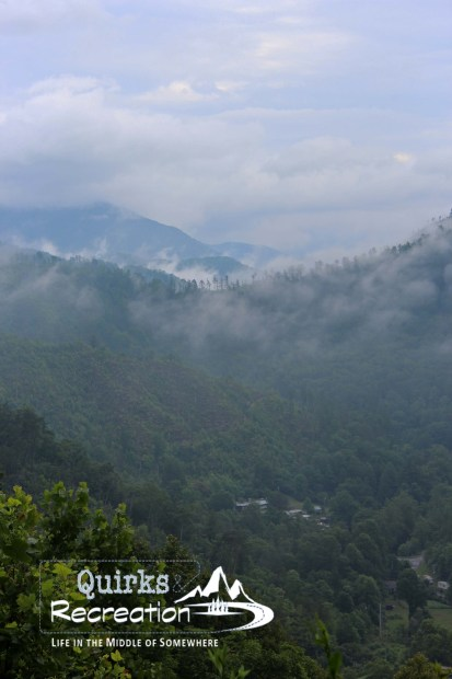 foggy morning in Great Smoky Mountains National Park