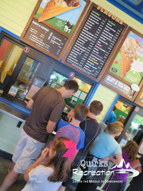 Ben & Jerry's ice cream line