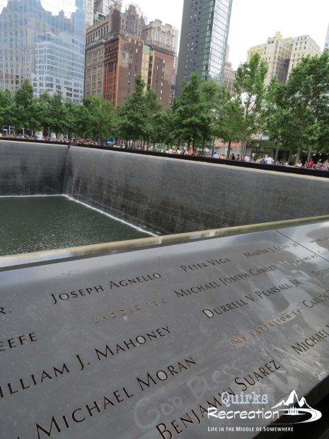 Sept. 11 memorial names NYC
