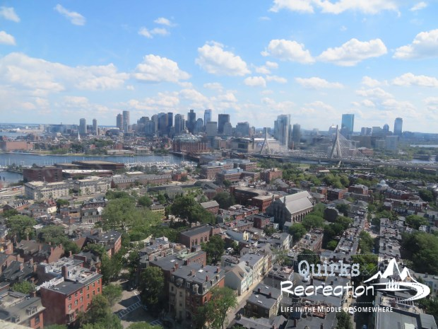 View of Boston from Bunker Hill Monument