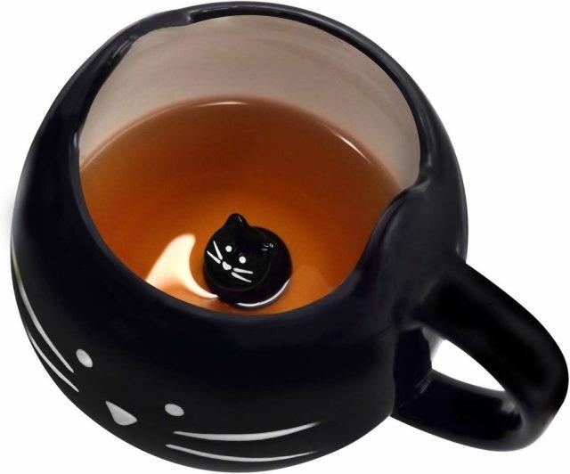 Kalkatkoo cat coffee mug
