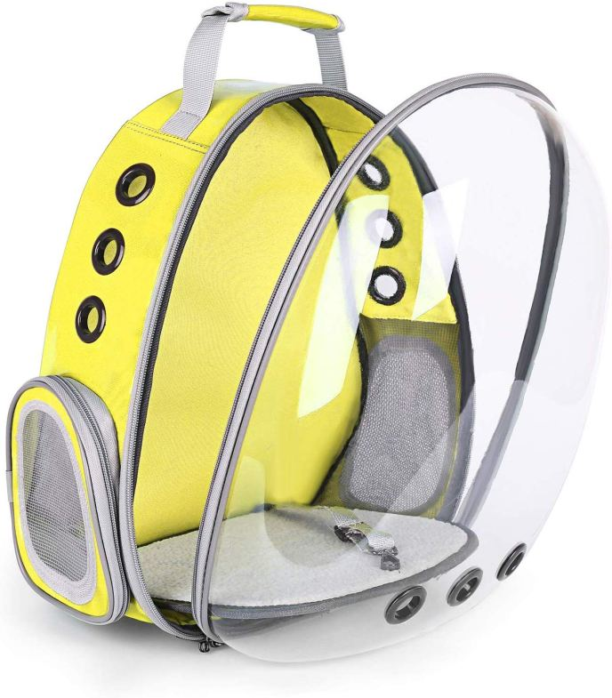 cat backpack bubble backpack 2