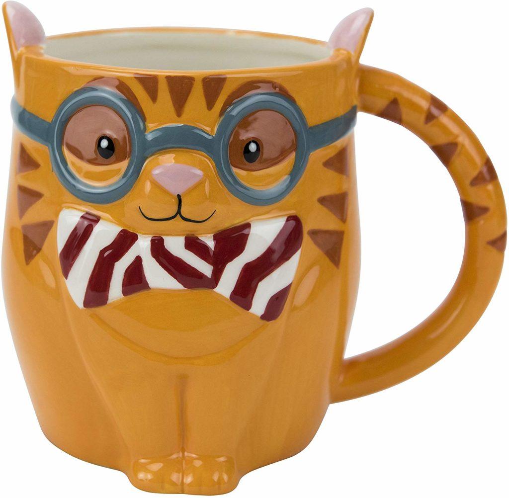 earthenworks cat coffee mug
