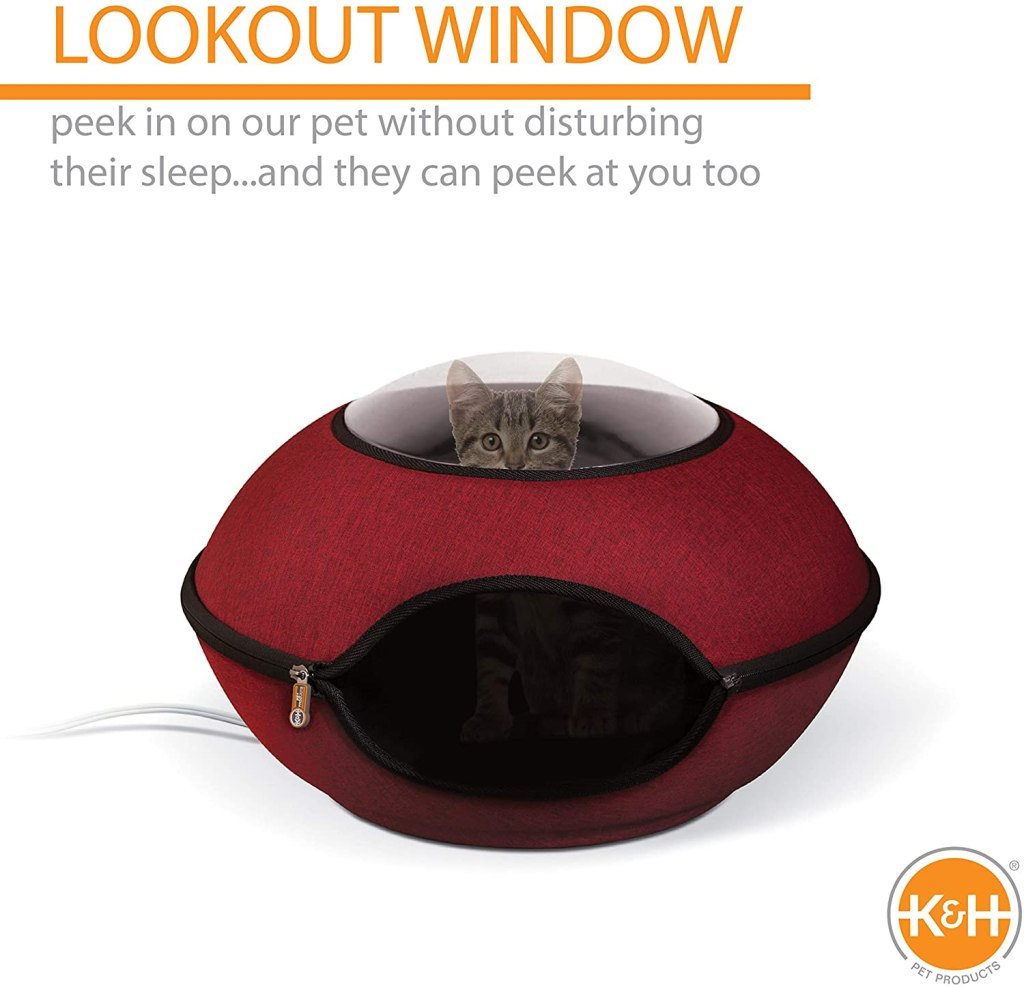 thermo lookout heated cat cave