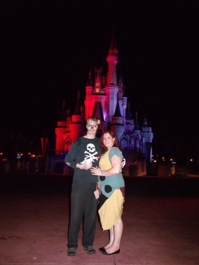 Disney magic in my DIY Sally Costume