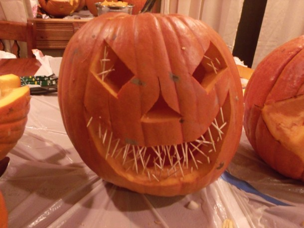 Bad Ass Pumpkin
