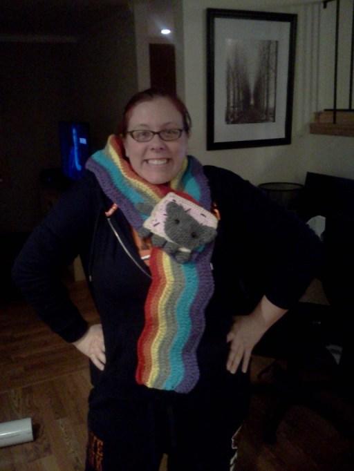 Love my scarf