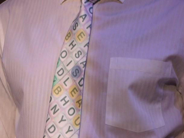 Word Winder Tie
