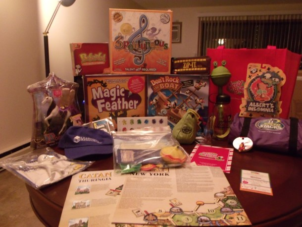 Chicago Toy & Game Fair Gift Bag