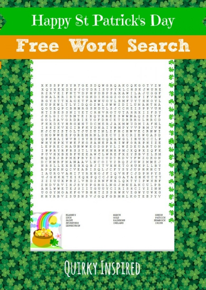 Free St Patrick's Day Printables are fun way to frugally celebrate the luck 'o the Irish. These printable crosswords for kids are cheap and a blast!
