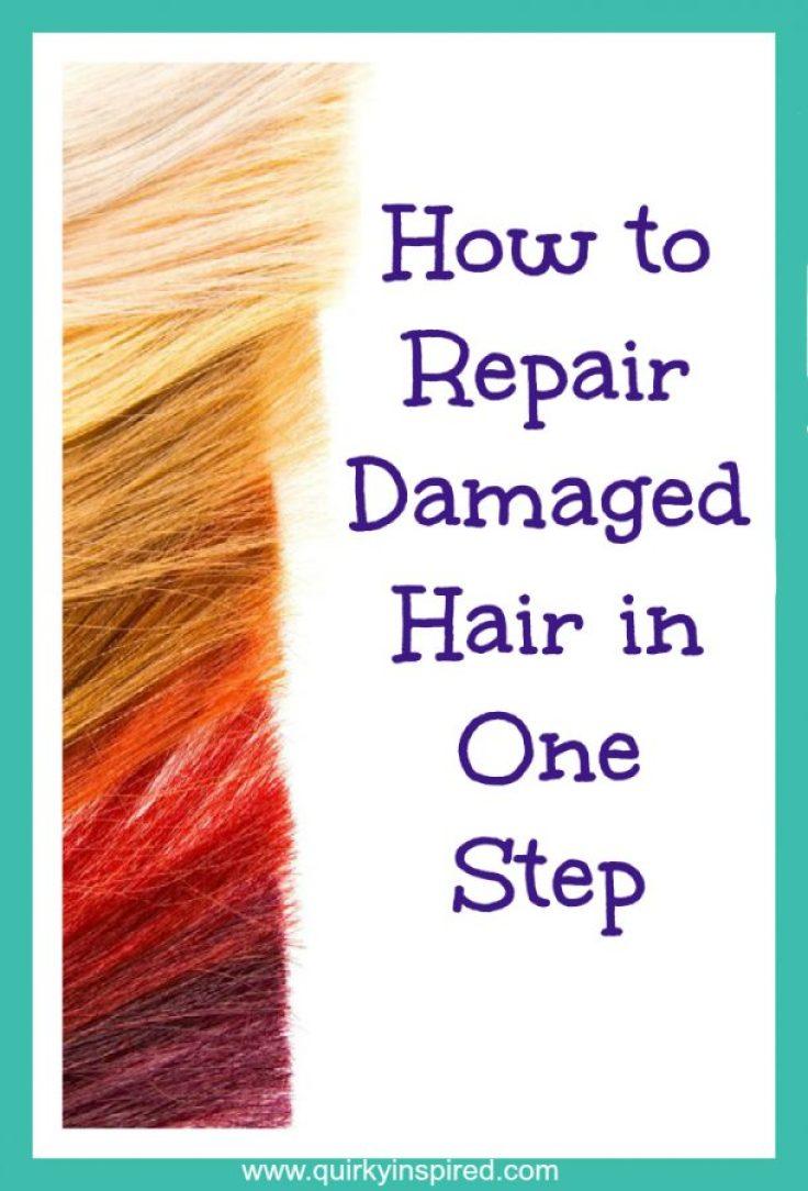 Fried Hair Repair Tips