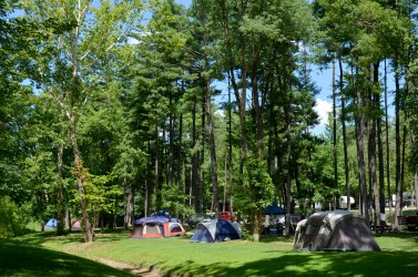 Tent Sites at Lake Rudolph