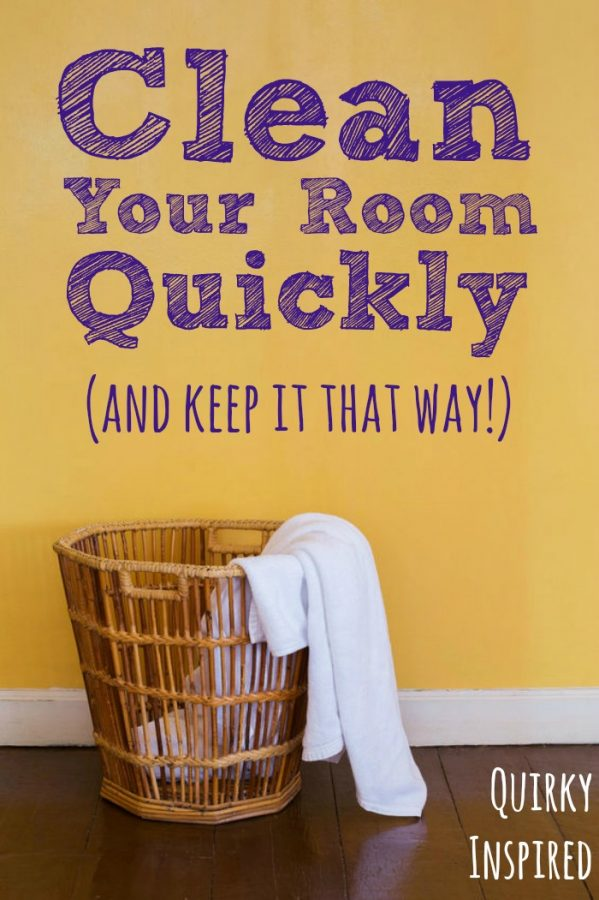 Want to know how to clean your room quickly? Then check out these simple tips!