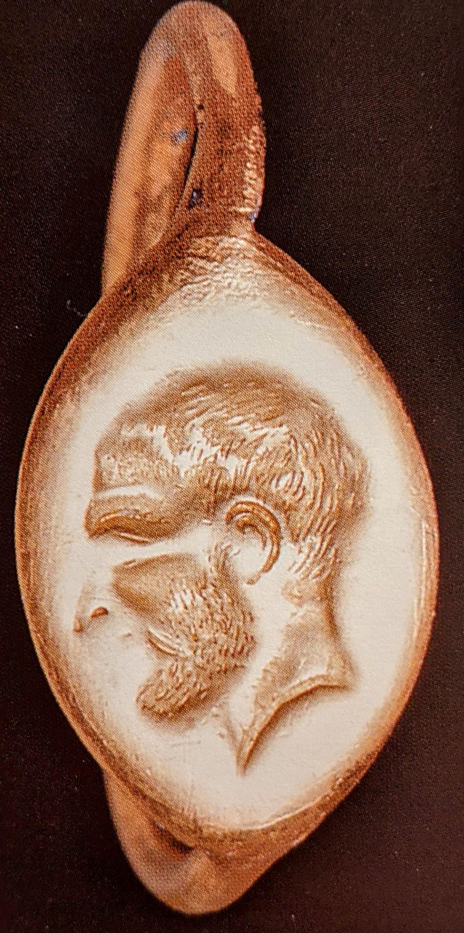 Gold ring bearded man