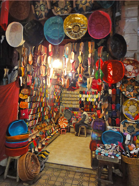 A girl's guide to Marrakech - definitely go shopping in the souks!