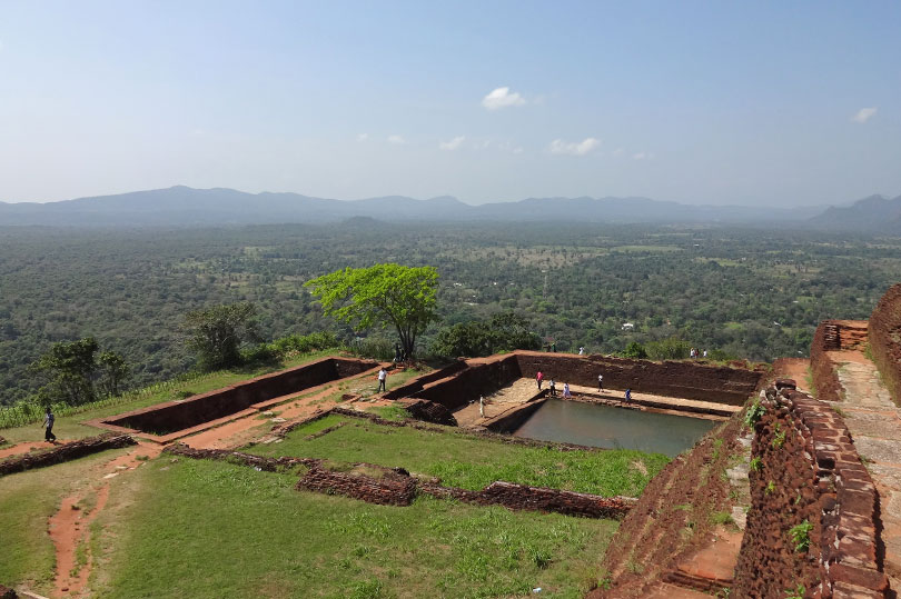 The view from Sigiriya