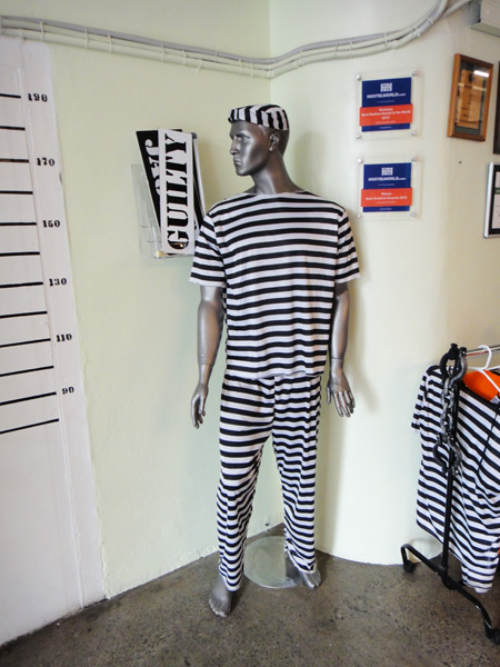 Dressing up props at The Jailhouse, Christchurch