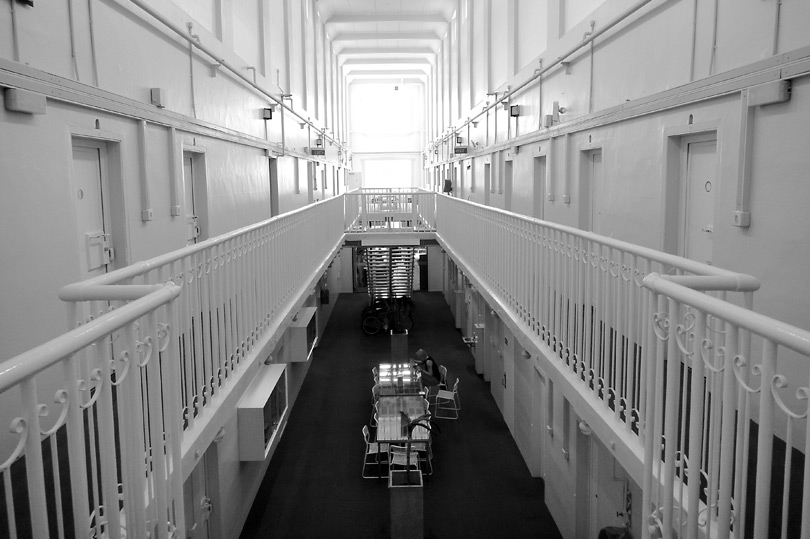 Quirky accommodation in New Zealand - The Jailhouse, Christchurch