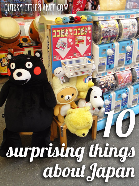 10 surprising things about Japan